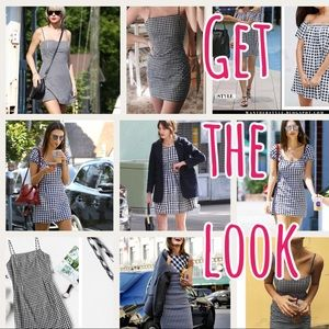 Dresses & Skirts - $23 TODAY! JUST IN! Gingham strappy dress- so cute